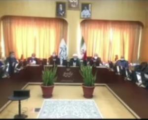 بررسی حق آبه مرزی ایران در کمیته امنیت آب، در خصوص منابع آبی هیرمند، در کمیسیون امنیت ملی مجلس شورای اسلامی