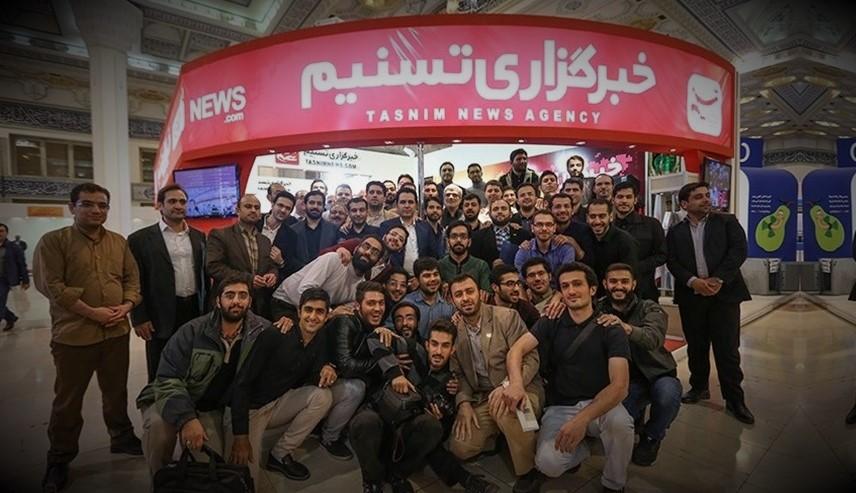 خبرگزاری تسنیم : غرفه برتر بیست و دومین نمایشگاه مطبوعات