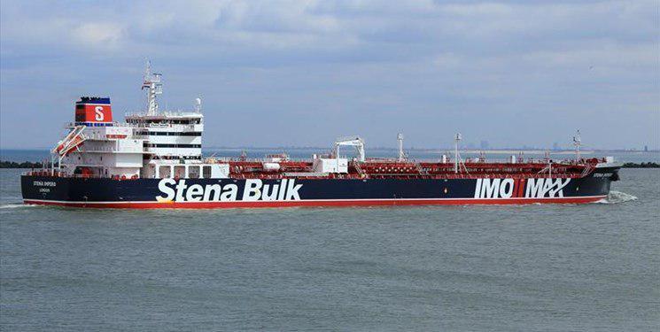 نفتکش بریتانیائی  Stena Impero توسط یگانهای حفاظتی منطقه یکم دریائی سپاه پاسداران انقلاب اسلامی در تنگه هرمز توقیف شد