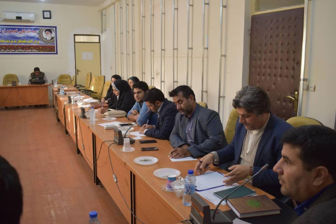 اولین نشست خبری فرماندار زابل با نمایندگان خبرگزاریهای سراسری و گردانندگان پایگاههای خبری فعال در حوزه سیستان