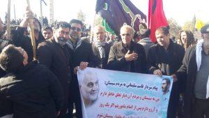 حرکت خودجوش یادگاران دفاع مقدس، از سیستان به سوی کرمان؛ جهت شرکت در تشییع جنازه شهید سلیمانی