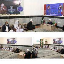 دیدار جمعی از علمای اهل سنت منطقه سیستان، با امام جمعه شهرستان زابل