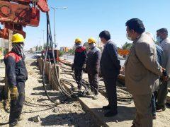 طرح توسعه شبکه فاضلاب شهر زابل با بیش از ۷۰% پیشرفت به سرعت در حال اجراست