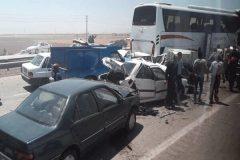 تصادف زنجیره ای در چابهار/ تکذیب شایعه مصدومیت تعدادی از نمایندگان مجلس