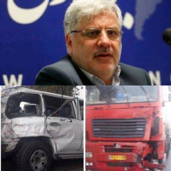 مدیرعامل سازمان تامین اجتماعی در گلستان تصادف کرد/فوت محمدتقی نوربخش و معاونش در این سانحه