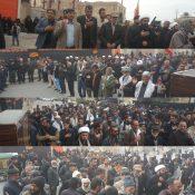 تجمع هیئات مذهبی و دستجات سینه زنی در زابل