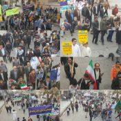 مردم زابل در فجر فاطمی، یک بهمن تماشائی آفریدند