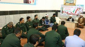 دیدار فرماندهی و اعضای شورای نواحی پایگاههای مقاومت بسیج زابل، با امام جمعه این شهر