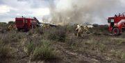 آخرین اخبار سقوط هواپیمای باری بوئینگ ۷۰۷ باری، در فرودگاه فتح کرج + اسامی جانباختگان
