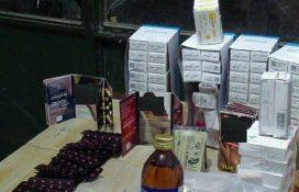 کشف ۵ هزار عدد انواع قرص و داروی غیر مجاز در زابل