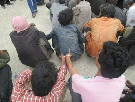 طرح ارتقاء امنیت عمومی  با دستگیری ۱۶ معتاد متجاهر در زابل به اجرا در آمد