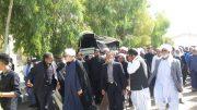وداع مردم سیستان با ابوالشهید و یادگار هشت سال دفاع مقدس، مرحوم حجت الاسلام والمسلمین حاج شیخ محمد اعتمادی(لکزائی)
