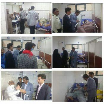 واژگونی تراکتور در نیمروز ۱۱ نفر را راهی بیمارستان کرد / وضعیت عمومی مصدومان رضایت بخش است