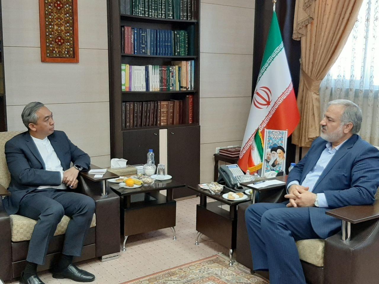 دیدار سفیر اندونزی با استاندار سیستان و بلوچستان