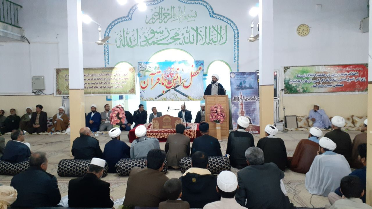 حجت الاسلام والمسلمین علی اکبر کیخا امام جمعه زابل: وقت آن است که وحدت به صورت عملی در جامعه رواج یابد