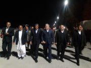 وزیر راه و شهرسازی وارد زاهدان شد
