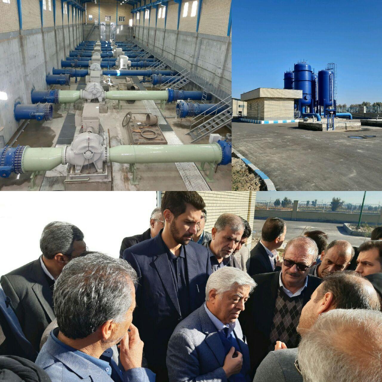 عباس کشاورز از روند اجرای طرح بزرگ انتقال آب با لوله به اراضی کشاورزی دشت سیستان بازدید کرد