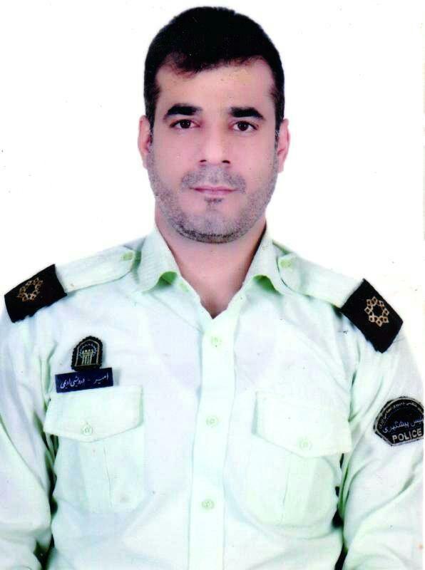 شهادت افسر پلیس در کنارک / اولین تصویر از شهید مدافع وطن ستواندوم امیر درویشی