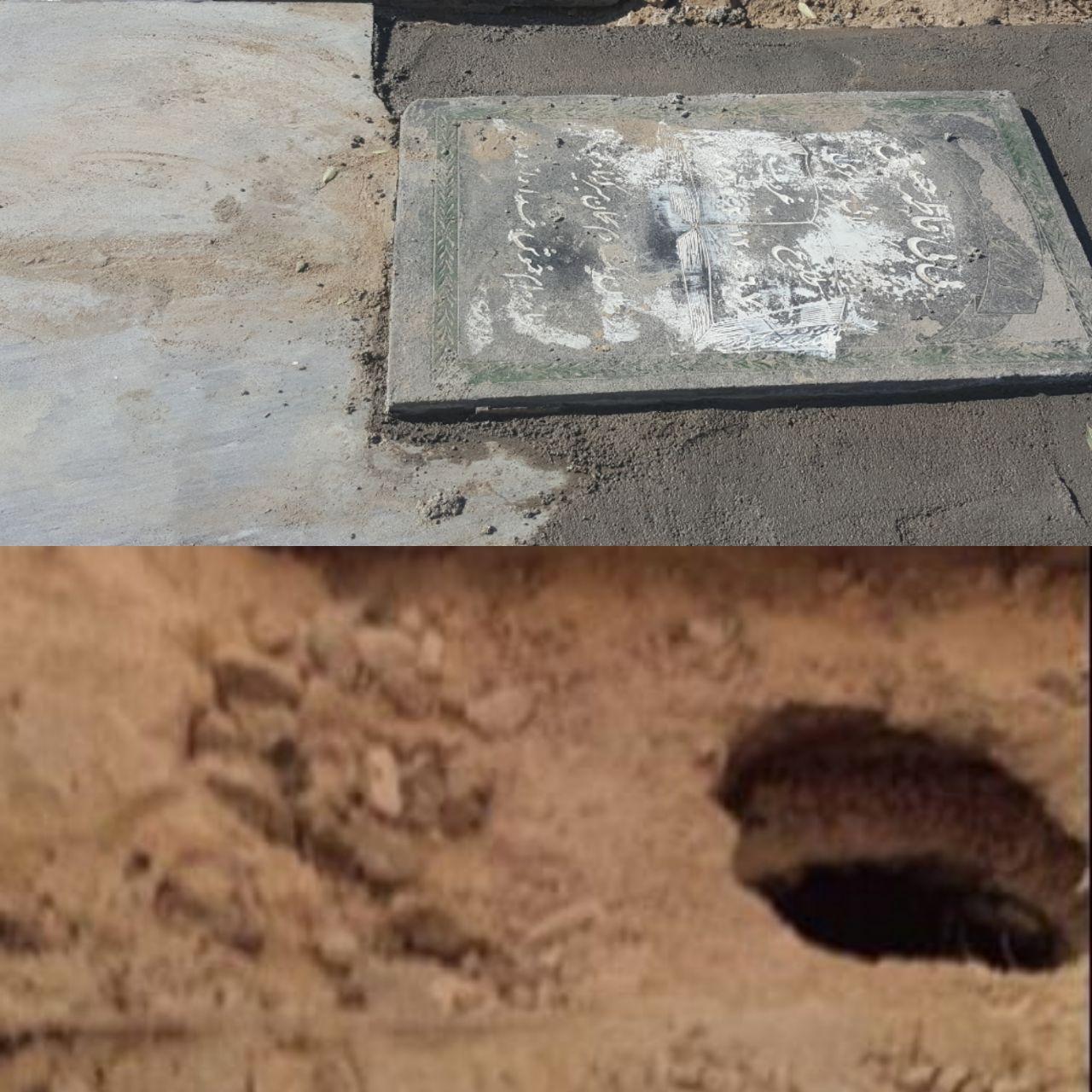 با نبش قبری در آرامستان شهر زابل، قطعه پزشکی از جنس طلا بکار رفته در قلب متوفی به سرقت رفت