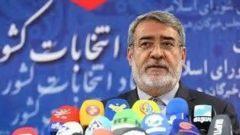 وزیر کشور :  مشارکت در انتخابات در کل کشور ۴۲%، و در تهران ۲۵% بود / با وجود کرونا، حوادث آبان و سقوط هواپیما مشارکت خوب بود