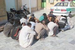 اجرای طرح پاکسازی نقاط آلوده و جرم خيز در سطح شهرستان زابل