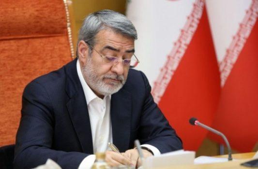 درخواست وزیر کشور برای نجات منطقه سیستان