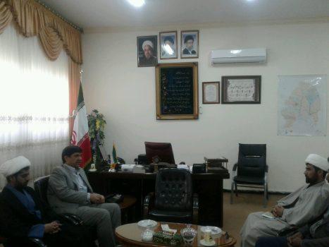 دیدار حجت الاسلام والمسلمین اسماعیل بامری با فرماندار ویژه زابل