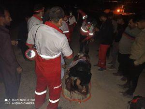 فردی بر اثر سقوط از ارتفاعات کوه خواجه بشدت مصدوم شد