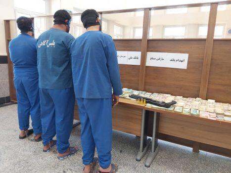دستگیری باند سارقان بانک ملی زاهدان، در کمتر از ۱۲ روز