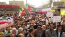 راهپیمایی یوم الله ۲۲ بهمن در شهرستان زابل برگزارشد