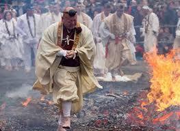 راه رفتن روی زغال آتشین