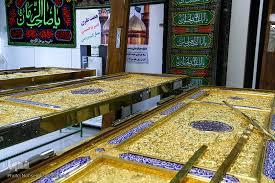 تصاویر : کارگاه ساخت دربهای حرم امامین کاظمین(ع) در مشهد