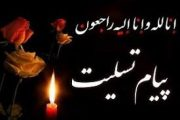 پیام تسلیت نمایندگی دفتر تبلیغات اسلامی به مناسبت ارتحال ملکوتی مرحوم آیت الله شیخ محمود بیانی