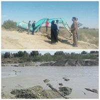 تدابیر و هماهنگی های لازم برای مدیریت سیلاب در بخش مرکزی شهرستان زابل اتخاذ شده است