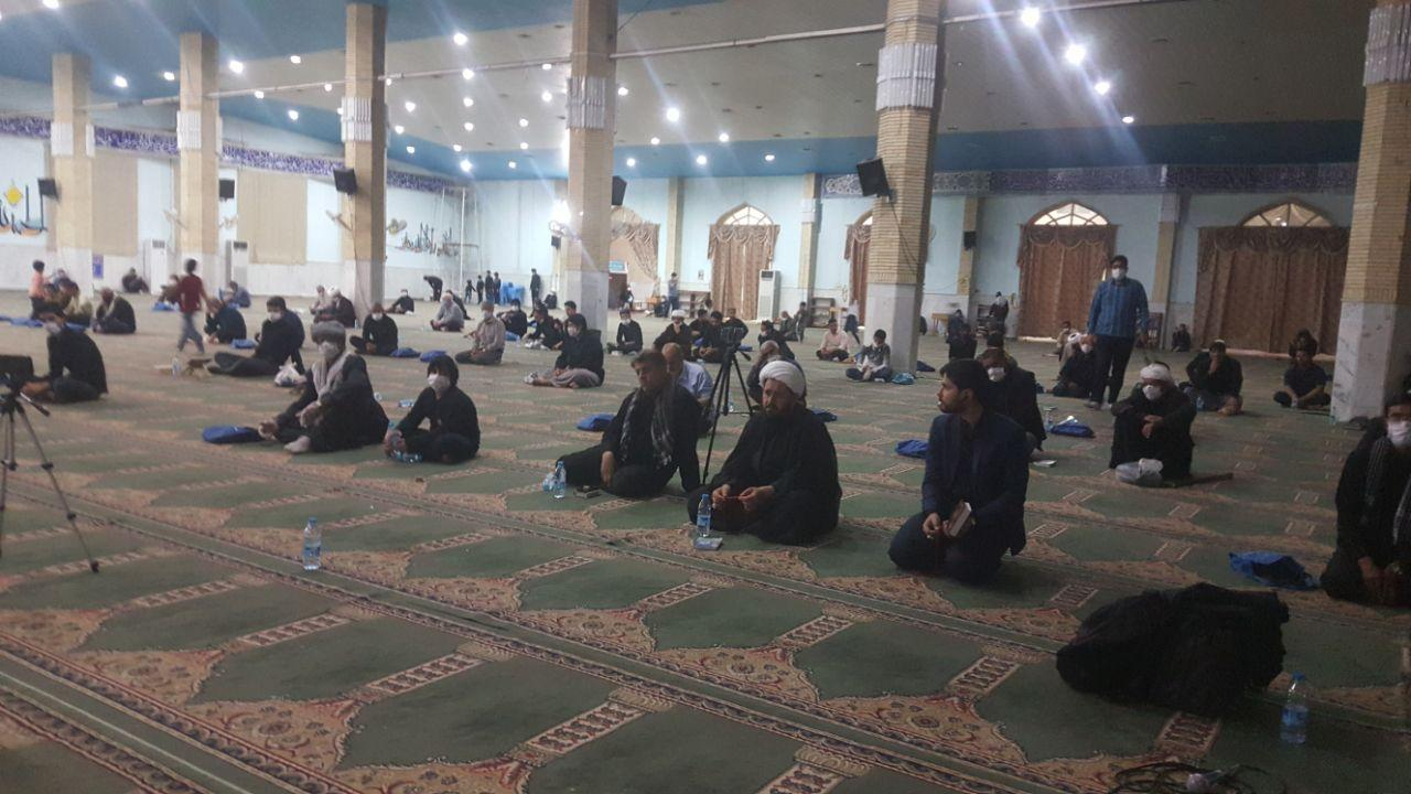 مراسم باشکوه سومین شب قدر در مصلی المهدی(عج) شهرستان زابل